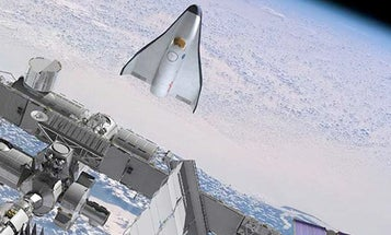 Jumping into the New Space Race, Orbital Sciences Unveils Mini-Shuttle Spaceplane Design