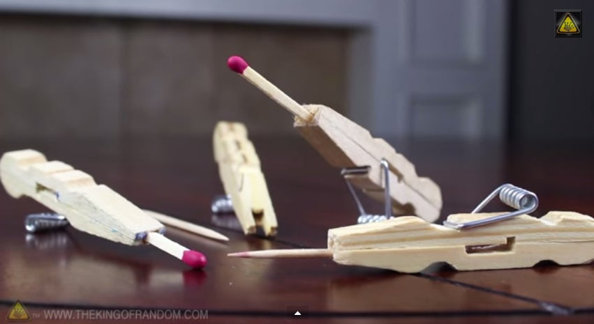 How To Turn A Clothespin Into A Matchstick Gun