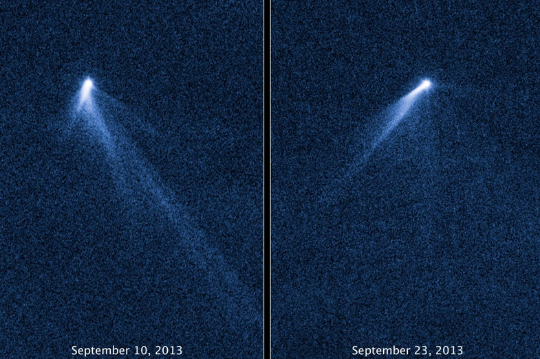 Asteroid With Six Tails Leaves Astronomers Dumbfounded