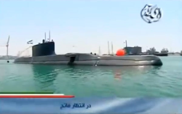 Video: First Footage Surfaces Of New Iranian Submarine