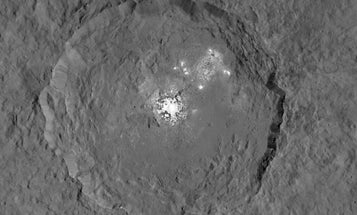 See Ceres' Shiny Spots In Stunning Detail