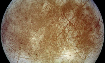 Lost: Huge Chunk Of Europa's Icy Crust
