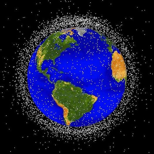 As Debris Threatens ISS, NASA Releases Top-Ten List of Space Junk Culprits
