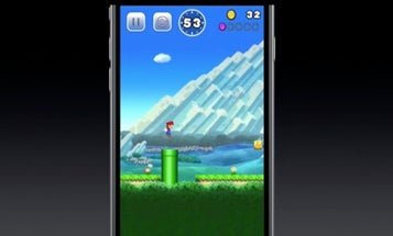 Super Mario Is Coming To the iPhone