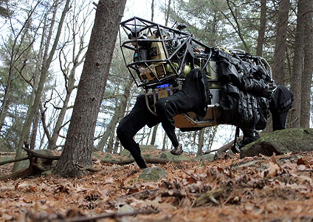 DARPA Spends $10 Million To Make BigDog Stronger And Stealthier