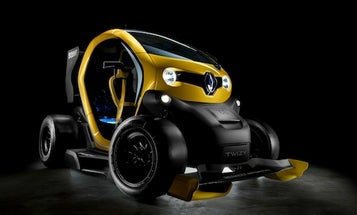 New Twizy Electric Car Is Part Formula 1, Part Mario Kart