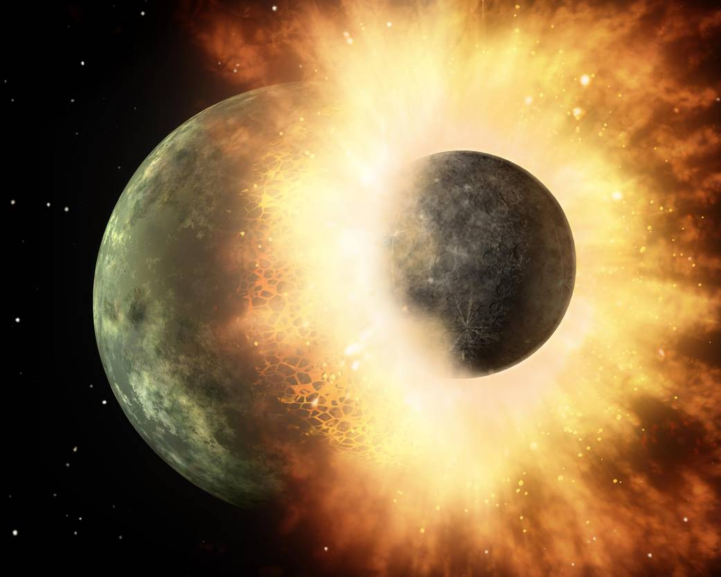 Melting Rocks With Lasers Provides Insight Into Origin Of Earth's Magnetic Field