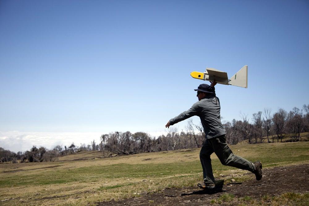 NASA Launches Three Military Drones Into An Active Volcano