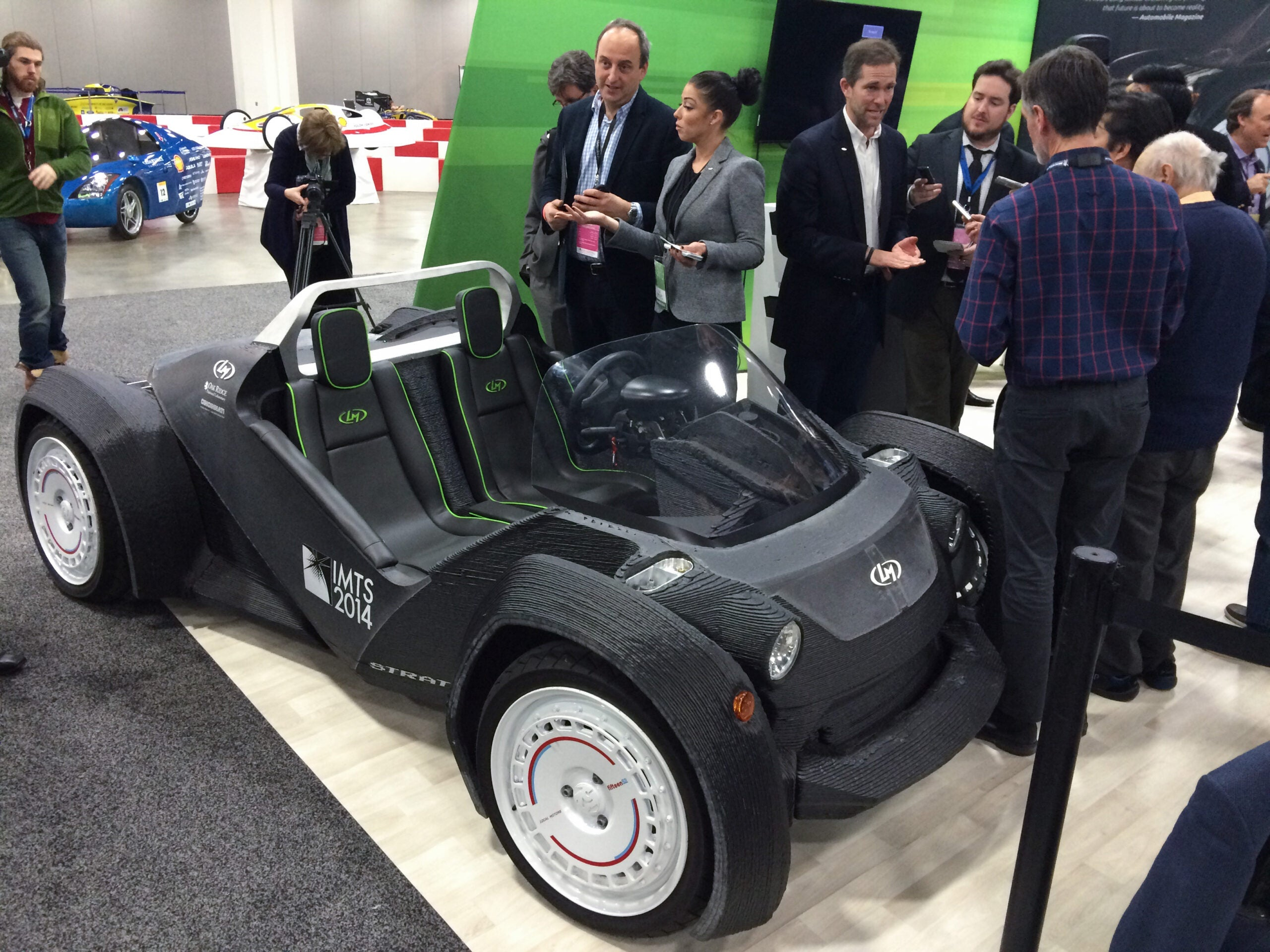 2015 Detroit Auto Show: You Might Be Able To Buy 3-D–Printed Cars In A Year
