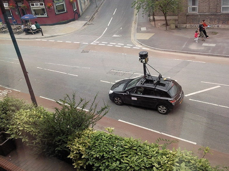 Google Catches Flak for Mapping European Homes' Wireless Networks With Street View Car