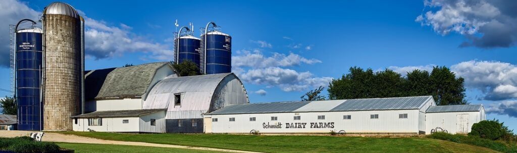 Wisconsin dairy farm.