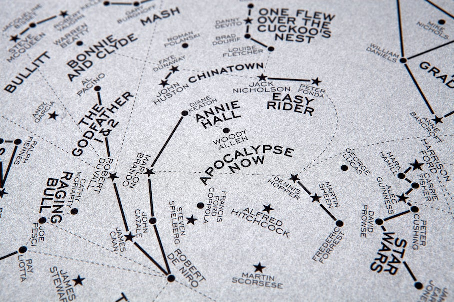 Gorgeous Prints Turn Great Films Into Starry Constellations