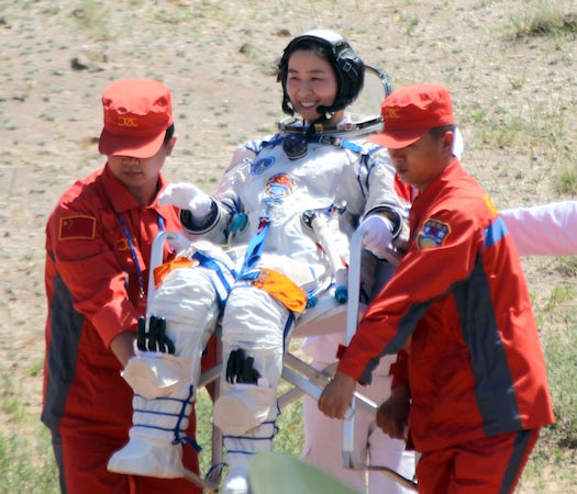 Chinese Astronauts Return to Earth After 12-Day Mission