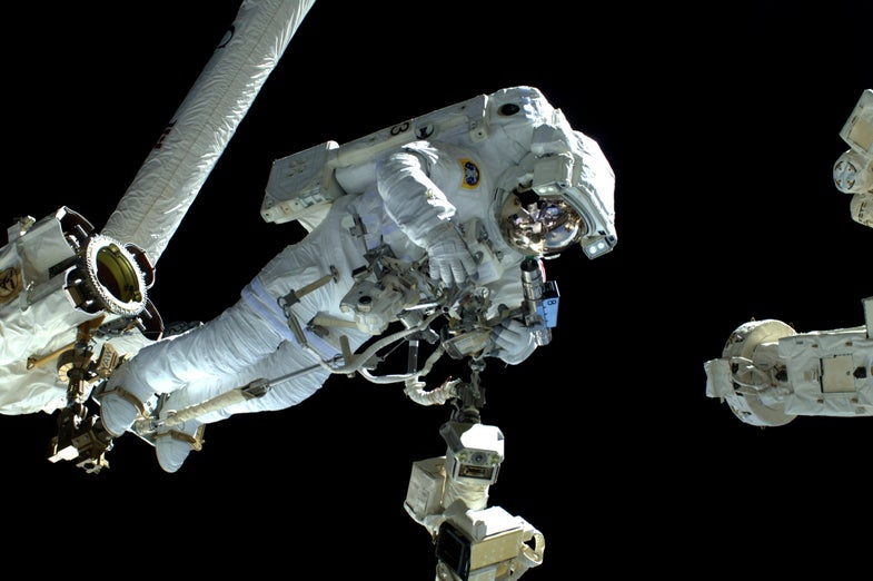 NASA's Putting a Space Suit Through A CT Scan