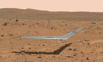 NASA Is Testing A Drone For Mars