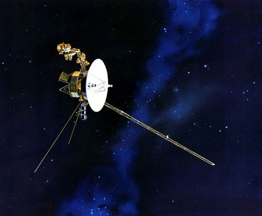 Clear of Solar Pollution, Voyager Glimpses Star Formation in the Milky Way For the First Time