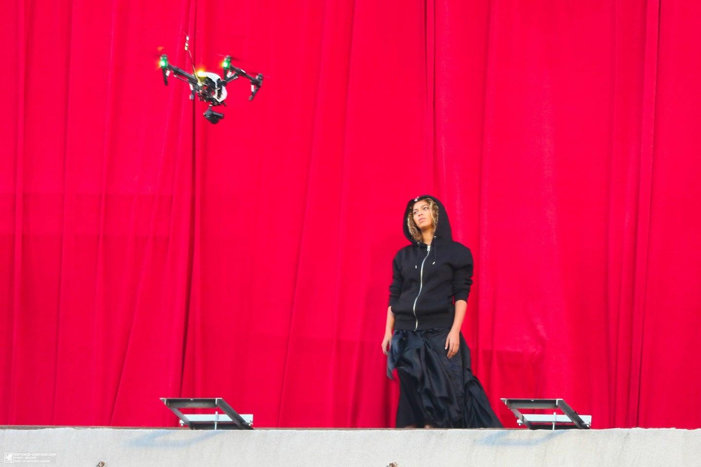 Beyoncé With Drone