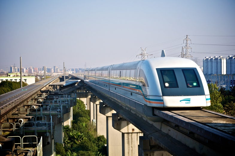 Maryland's Maglev Train Gets First Round Of Federal Funding