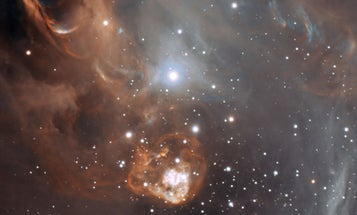 New ESO Image Captures Baby Stars Causing Chaos in the Nursery