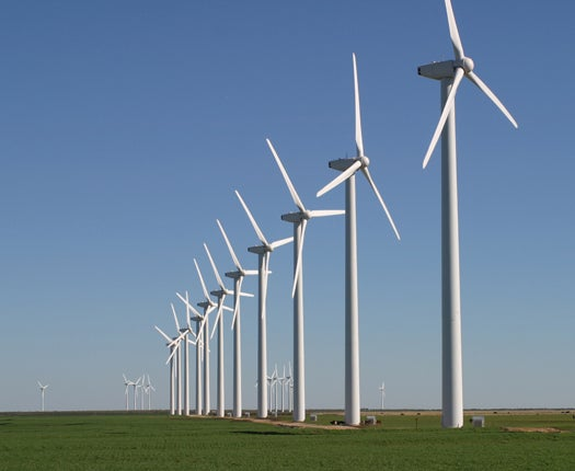 Huge Texas Wind Farm's Turbines Will Be Made in China