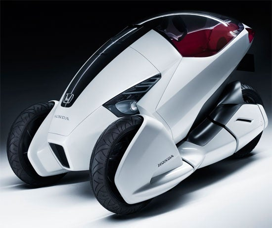 Honda's Concept Trike for the Urban Commuter
