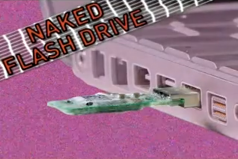 Five-Minute Project: Naked Flash Drive