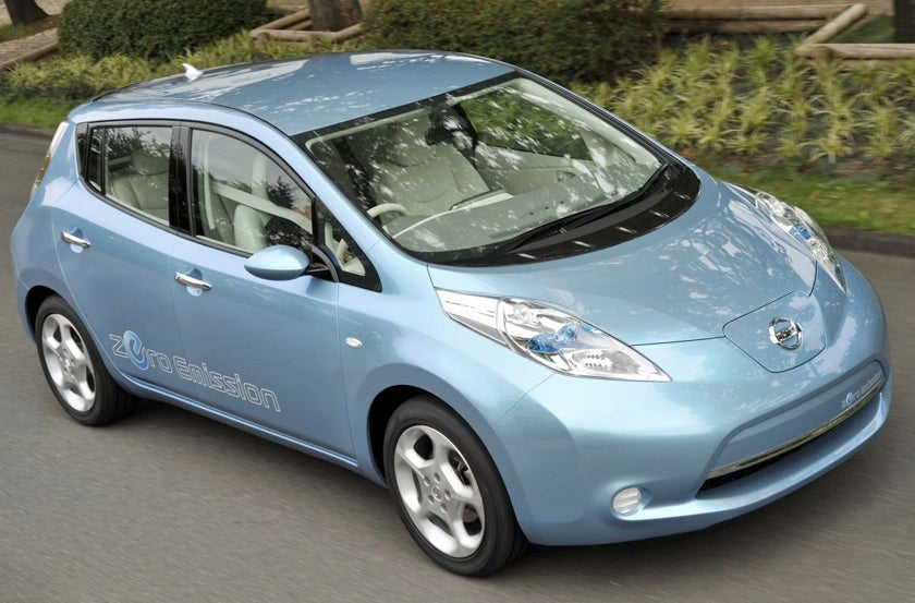 Nissan Gets $1.4 Billion Loan from Feds to Build Electric Cars