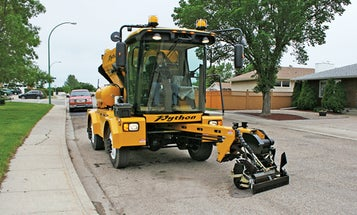 A Mechanical Road Crew for Filling Potholes Quickly and Cheaply