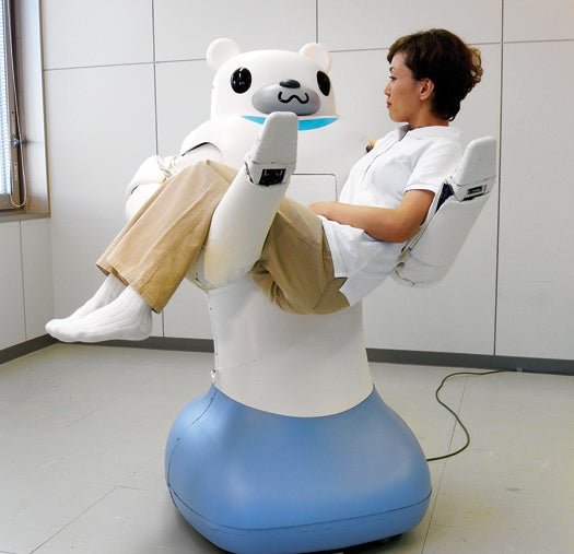 Some Japanese Patients Shun Robot Helpers, Throwing High-Tech Future of Elder Care Into Doubt