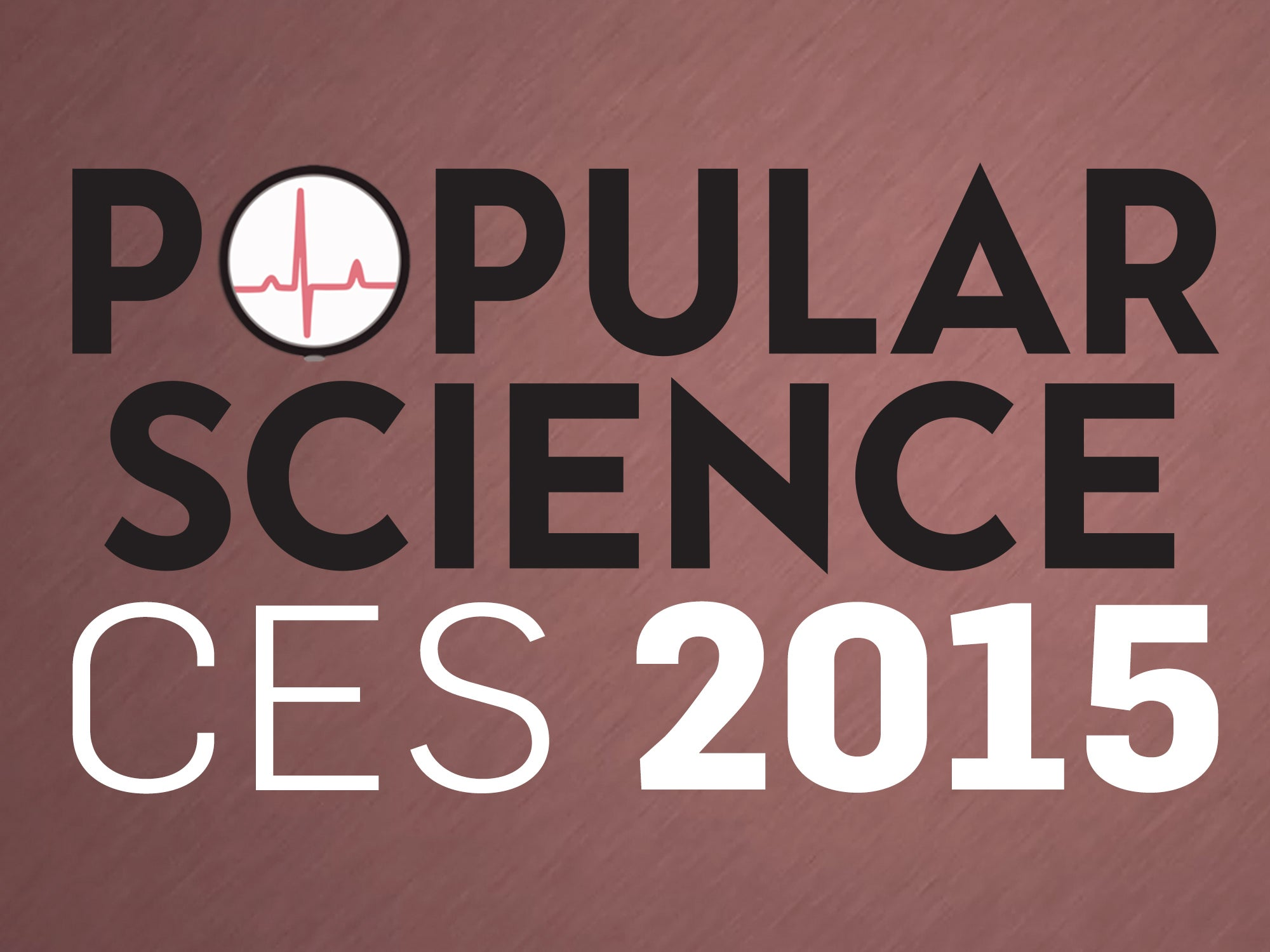 Popular Science consumer electronics show 2015 coverage logo