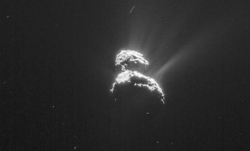 Ice On Comet Is As Old As The Solar System