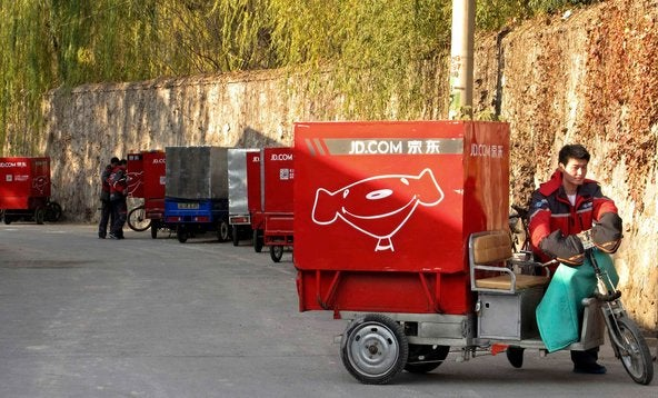JD.com delivery