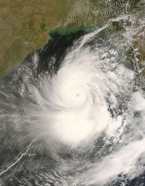 Ripple Effect in the Wake of Cyclone Nargis
