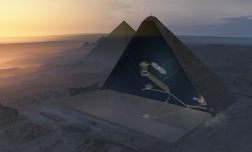 There's apparently a giant void in the Great Pyramid. Here's why we don't know what's in there.