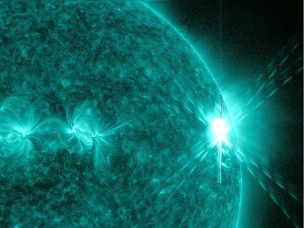 Video: This Morning's Solar Flare Was the Biggest Seen In Years