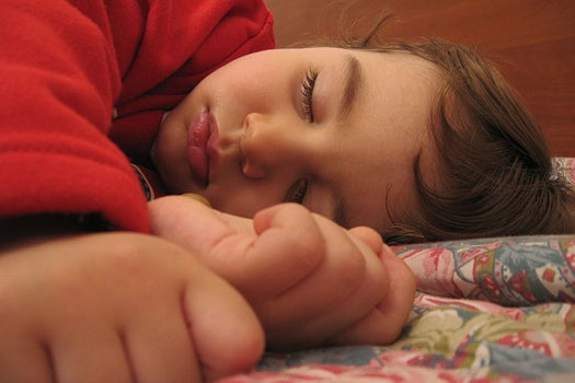 Sleeping Children Learn Better Than Adults
