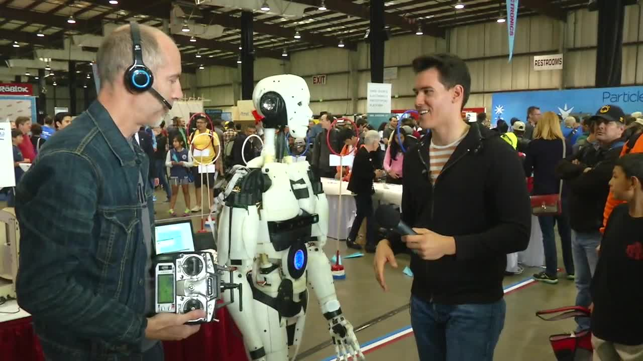 3-D Print Your Own Humanoid Robot Friend