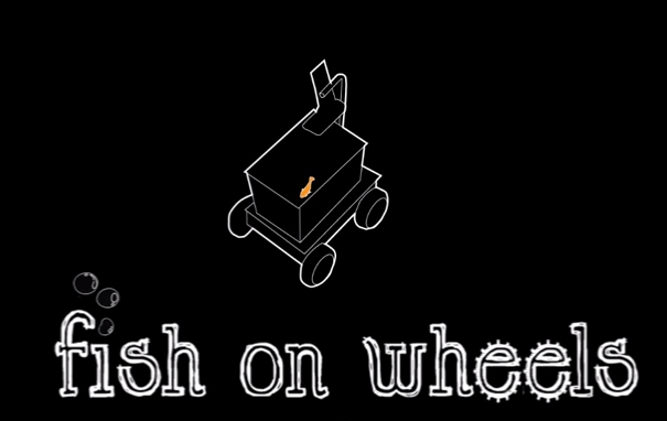 This 'Fish Car' Lets A Goldfish Drive Around