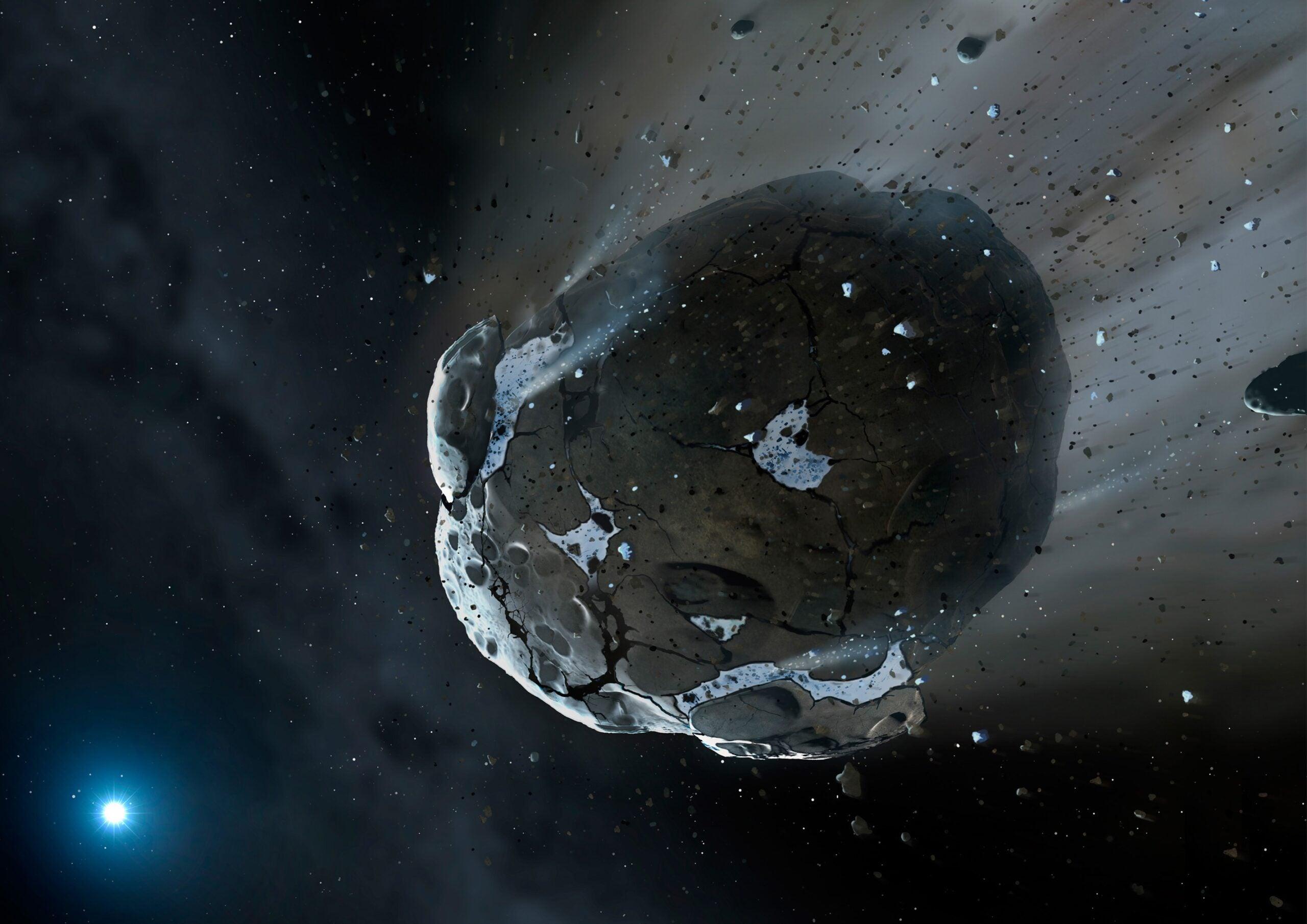 The Halloween Asteroid