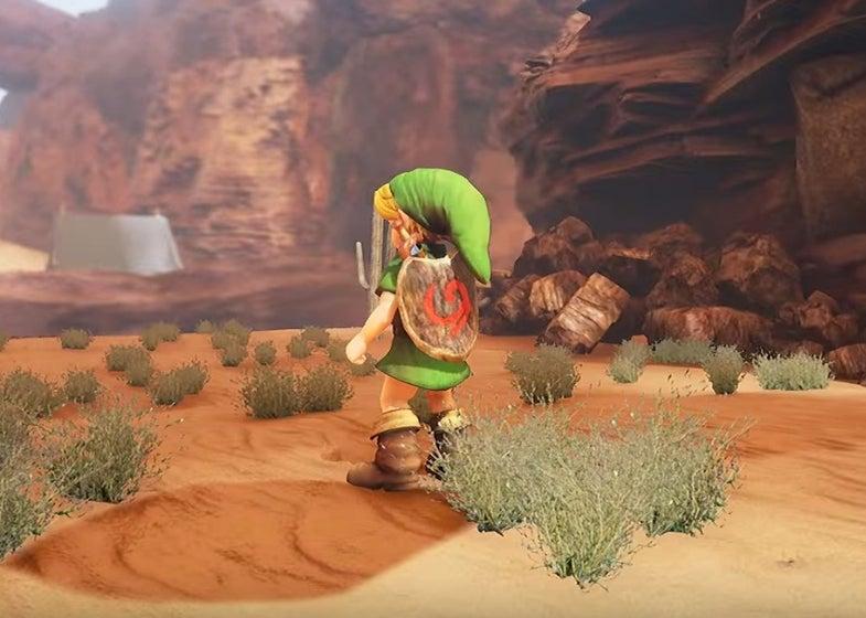 Zelda: Ocarina Of Time Unreal Engine 4