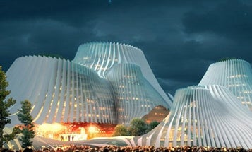 MAD Architects Use Solar Eco-Skin on Taiwanese Convention Center