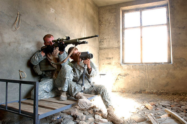 """Darpa's Self-Aiming """"One Shot"""" Sniper Rifle Scheduled for Next Year"""