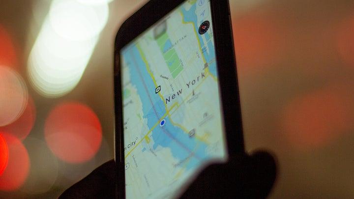 Smartphone maps