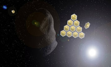 Solar Sail Arrays Could Be Used to Divert Incoming Asteroids by Shading Them From the Sun