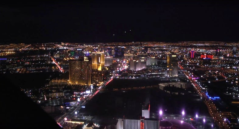 Aerial Tour of Las Vegas at CES 2016
