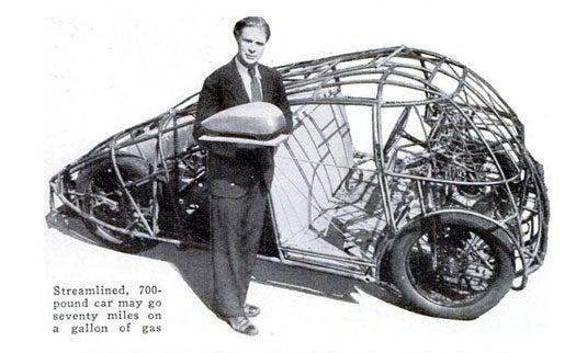 Streamlined Car: October 1934