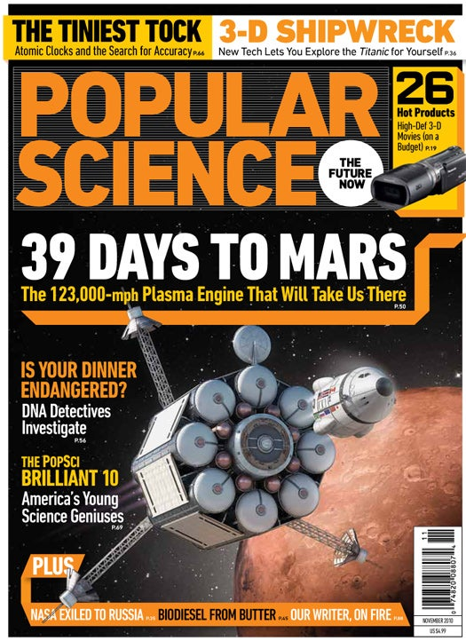 November 2010: 39 Days to Mars