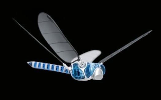 Watch This Remote-Controlled Robot Dragonfly Tear Up The Skies
