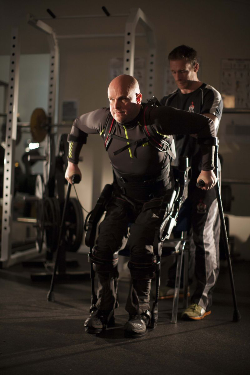 Bionic Suit Helps A Paralyzed Man Take Thousands Of Steps