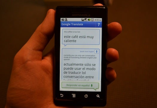 Google Translate's Conversation Mode Aims to Break Down Language Barriers